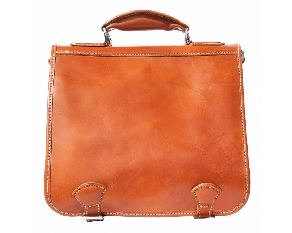 tan business bag for documents in real genuine leather Larisa for women