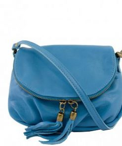 blue clutch Isotta woman