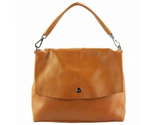tan purse in natural leather Julieta for women