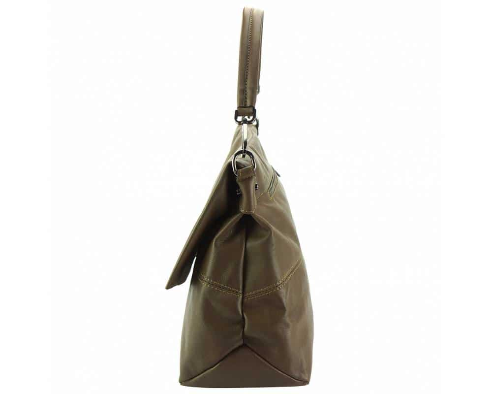 dark taupe purse Julieta for women