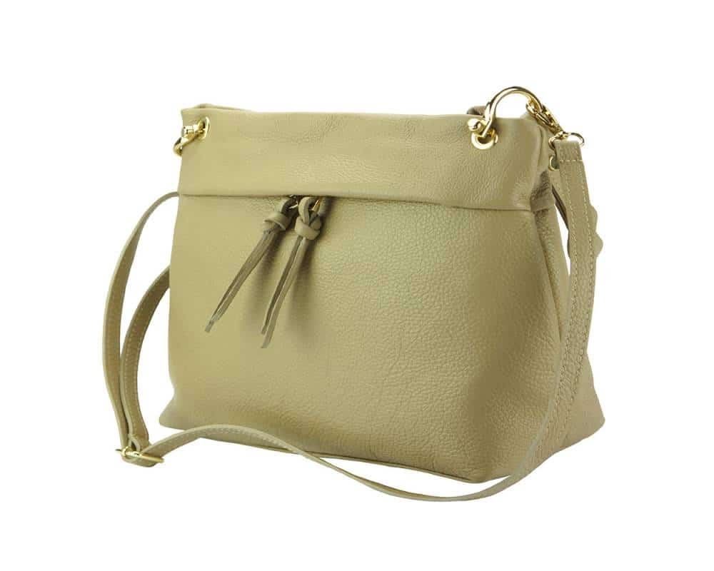light taupe womans bag Joita from italy