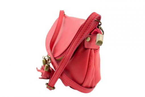 red clutch Isotta womans