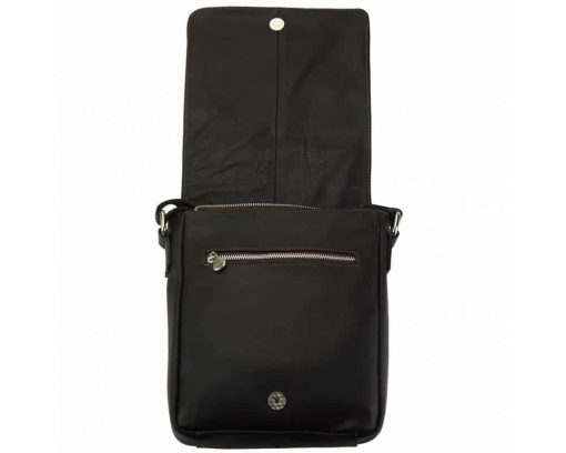 black messenger bag Janina for men