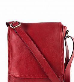 Bag unisex Guglielmo, of genuine leather for women