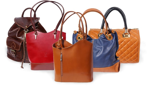bags of genuine leather from italy