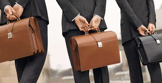 briefcases for man from italy