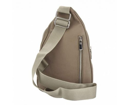 light taupe purse in leather Chira for women