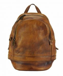 tan backpack Victoria for man