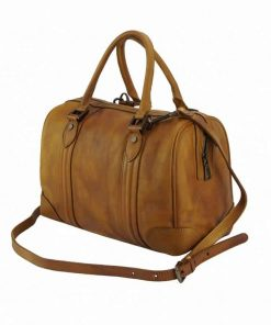 tan handbag Livica for man