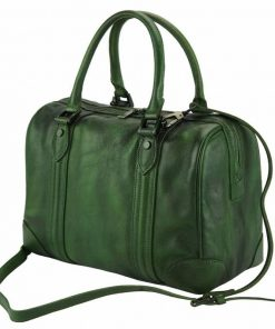 dark green handbag Taisa unisex