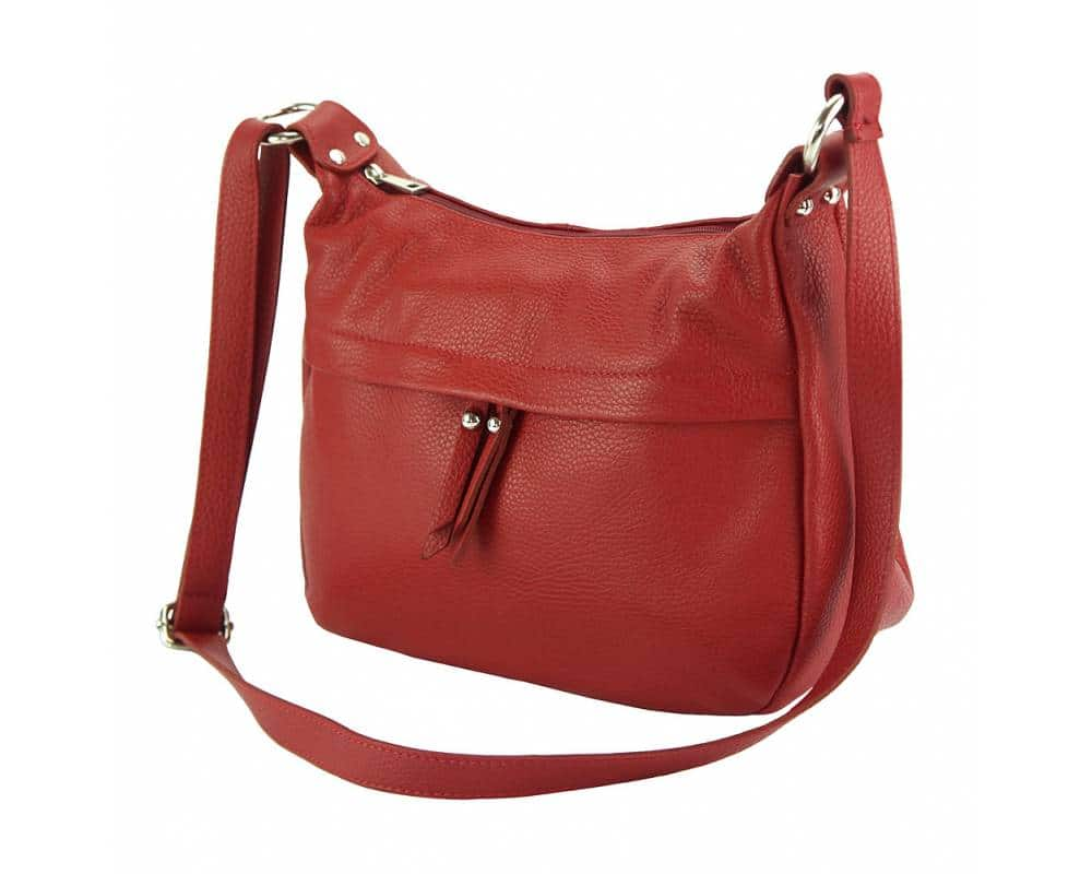 dark red cross body bag Teodora for woman