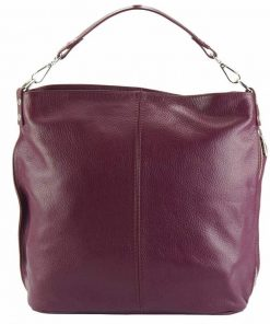 bordeaux shoulder bag Yasmin for woman