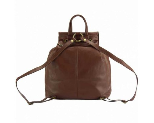 brown backpack constanta for woman