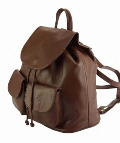 brown backpack constanta unisex