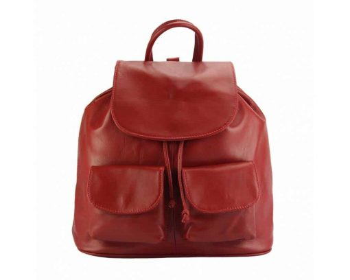 red backpack constanta unisex