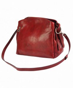 red bag for woman elizaveta in genuine leather for woman