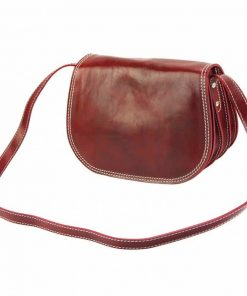 dark red cross body bag doina for woman