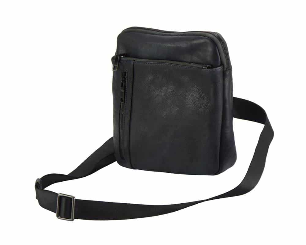 black messenger bag Bogdan
