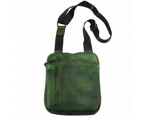 dark green messenger Bogdan for men
