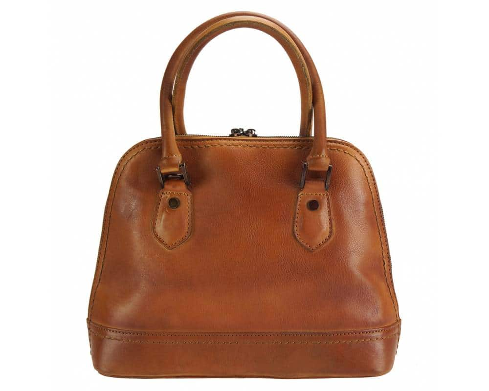 tan bag andria in leather
