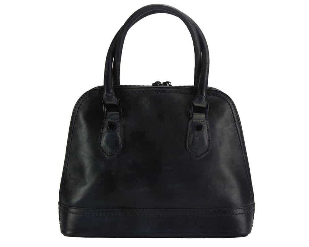 black bag andria from genuine leather