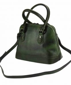 dark greean handbag andria for woman