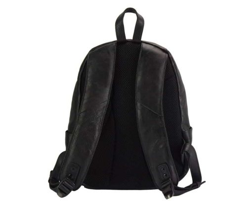 black backpack dica for woman