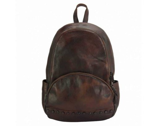 dark red backpack dica for woman