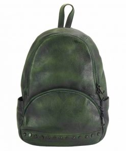 dark green backpack dica for woman