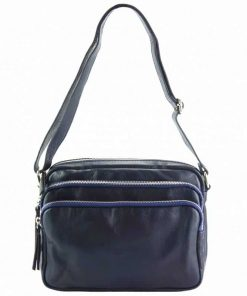 dark blue cross body bag for woman