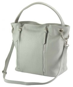 light taupe shoulder bag for woman