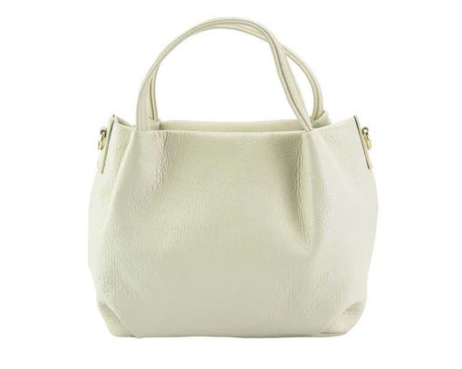 pink italian bag aurelia in real leather for woman