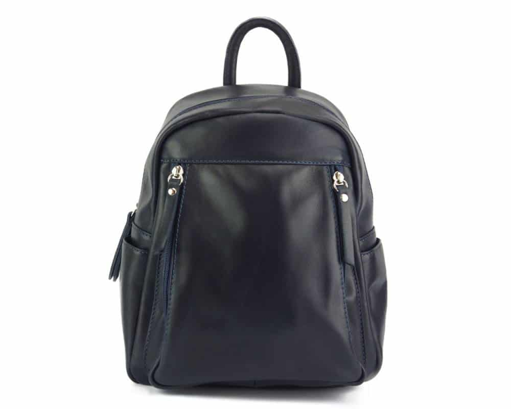 blue backpack unisex small