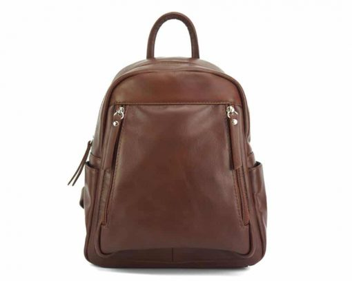 dark red backpack for man small