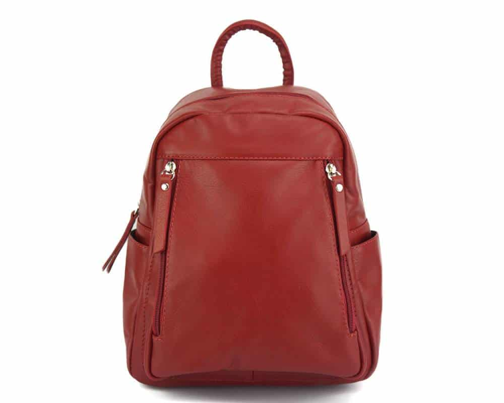 red backpack small for man