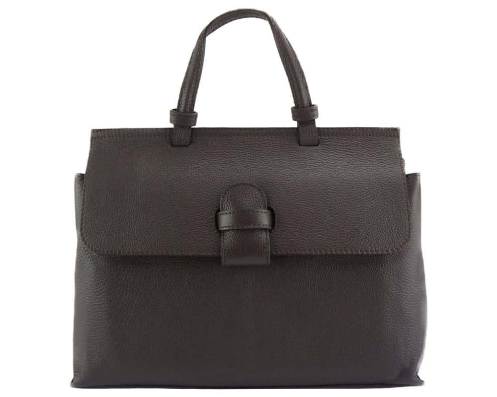 black handbag for women small of natural leather