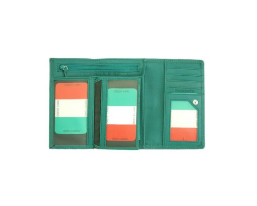 turquoise wallet adela for woman