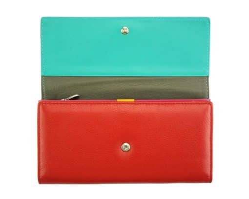 red wallet Diana for women