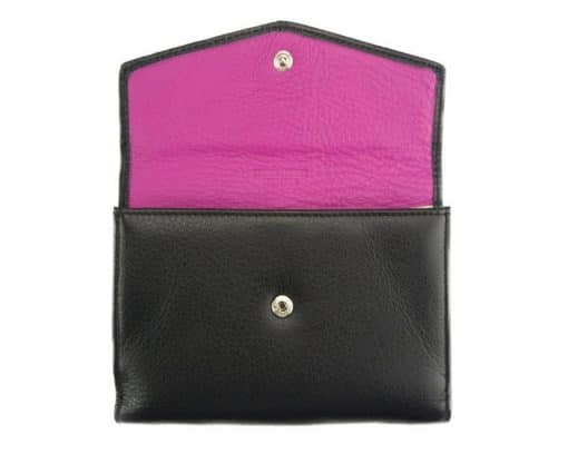black wallet Isabella for women