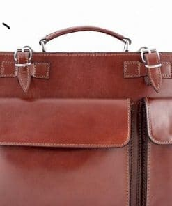 Business bag made of cow leather brown colour last model new design erik for man