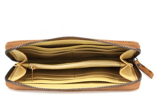 Women's wallet Cira made of genuine leather from italy