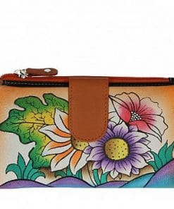 Women's wallet Cristiana made of genuine leather italian