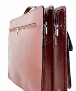 Business bag made of cow leather brown colour for man