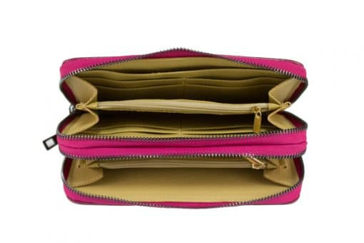 Women's wallet Poenia made of genuine leather new model from italy