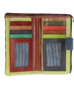 Women's wallet Cristiana of genuine leather italian
