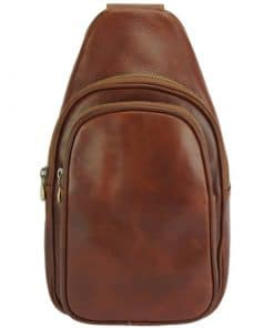 Nicolai Sling Bag brown colour last model for man