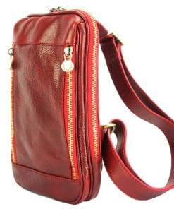 Honovaro Sling Bag red colour for men