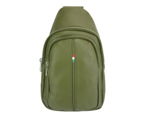 Nisula Leather Single backpack for men