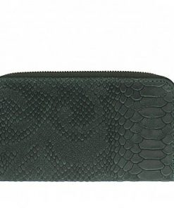 Women's wallet Orlanda in pithone style made of genuine leather from italy