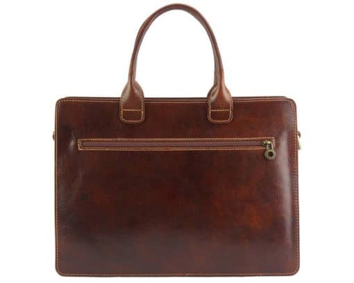 Giacomina leather business bag colour brown new style for woman
